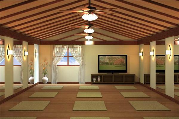 青山翠谷瑜伽很好