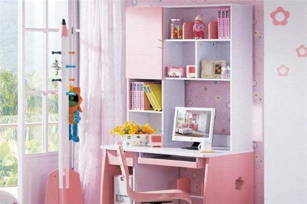 銘仁學習桌粉色家具