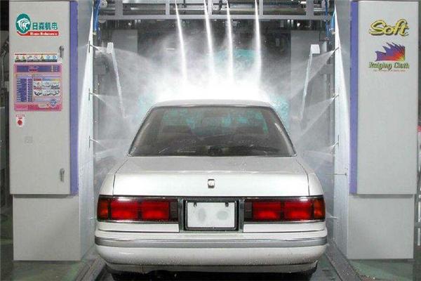 科思無人洗車效果