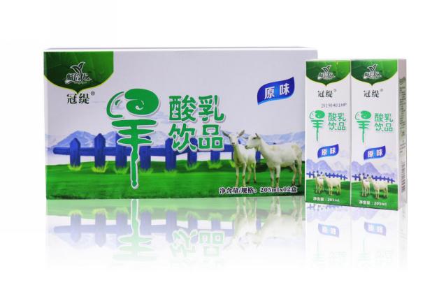 畅培优羊奶粉产品展示