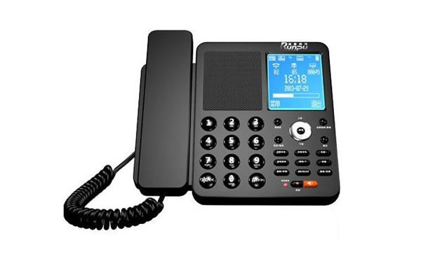 润普录音电话黑色