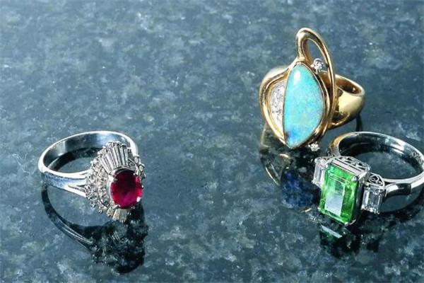 水立方珠宝戒指