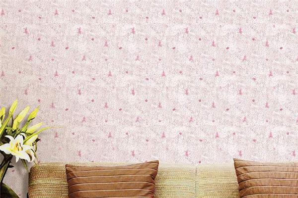 美诗乐无缝墙布粉色