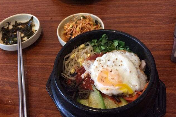 首尔石锅筷子