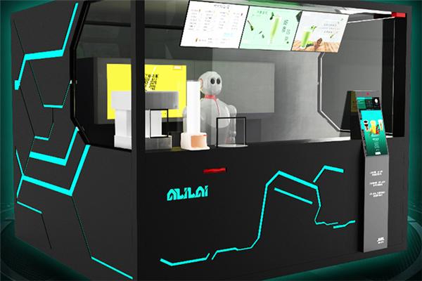 阿里来机器人奶茶加盟