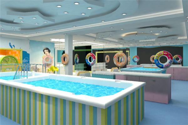 幼幼婴儿游泳馆很好