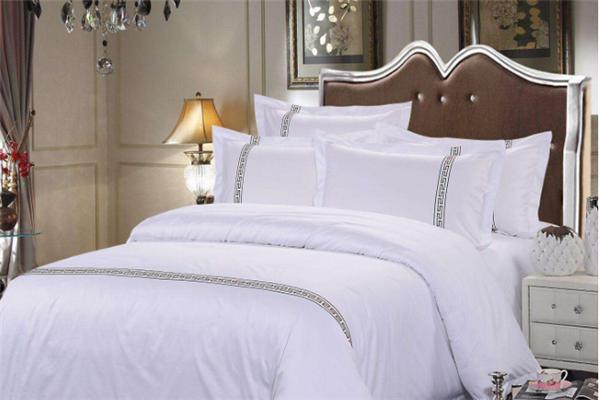 佳木斯床上用品白色四件套