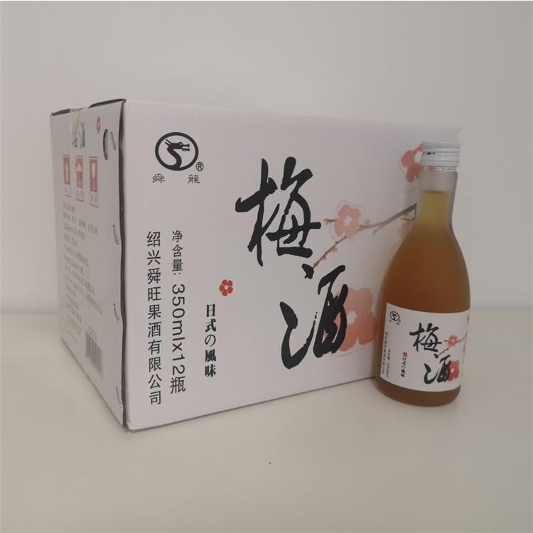 舜龍350ml日式風味梅酒