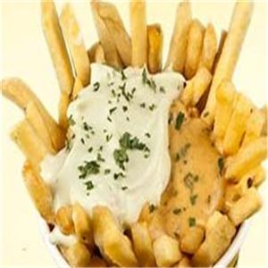 百變薯條休閑食品蒜香