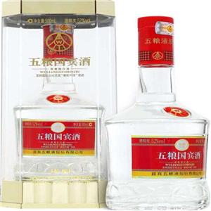 五粮国宾酒窖藏陈酿