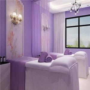 鉑蘭之鑰美容院紫色