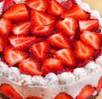 九月手作蛋糕草莓蛋糕