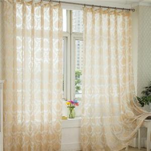 易簾花成品窗簾紗窗