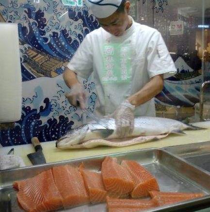 特宴进口肉类海鲜超市三文鱼