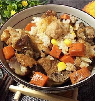 匯輝豉油排骨飯拌飯