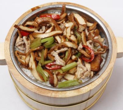 三湘农家木桶饭美味