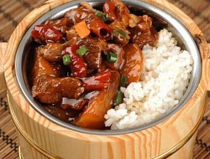湘赣农家木桶饭美食