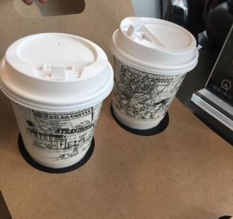 ATLASCoffee寰圖咖啡兩杯