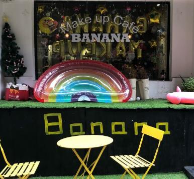 Banana美妆咖啡馆吧台