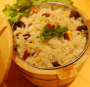 湘攸小厨木桶饭米饭
