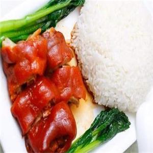 林记正宗隆江猪脚饭美味