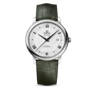 欧米茄手表绿色表带手表