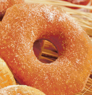 一万粒胚芽浓浆甜甜圈