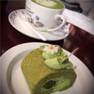 小庄园欧式摄影咖啡馆绿色