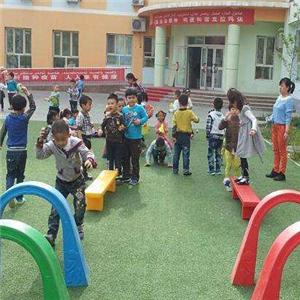 南园幼儿园玩耍