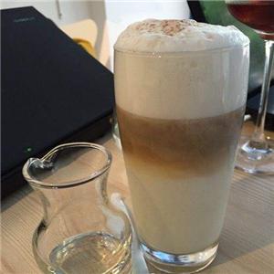 星辰咖啡奶泡
