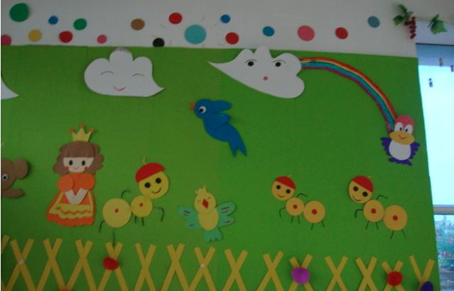 绿茵幼儿园绘画