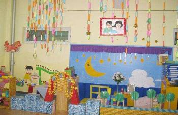 天使寶貝幼兒園裝飾畫