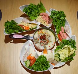 美颜素猪肚鸡汤饭产品3