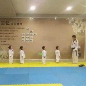 双勇跆拳道广告