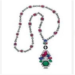 珠宝团项链