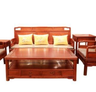 古佰年红木家具长椅