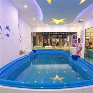 藍旗親子游泳