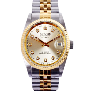 精鐵時手表金色手表