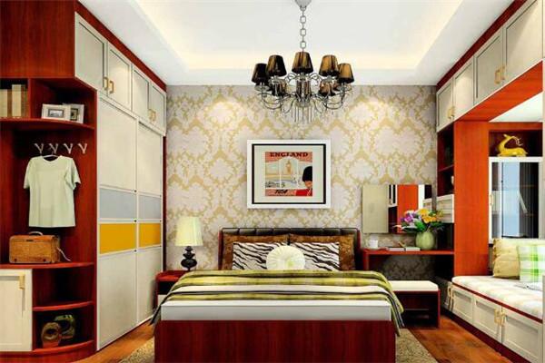 摩曼墙纸卧室