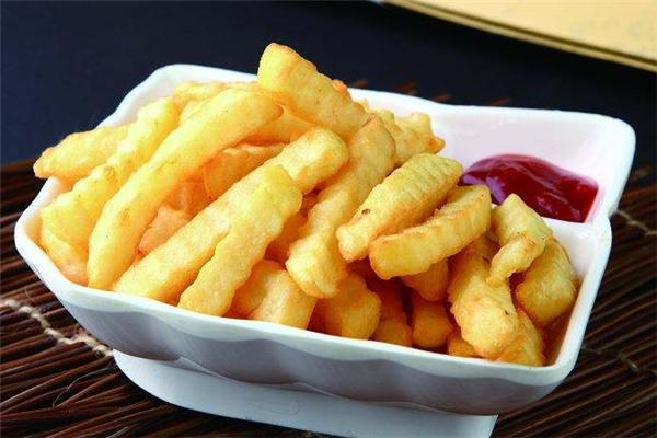 百變薯條休閑食品盤子