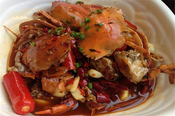 熱鹵劉螃蟹