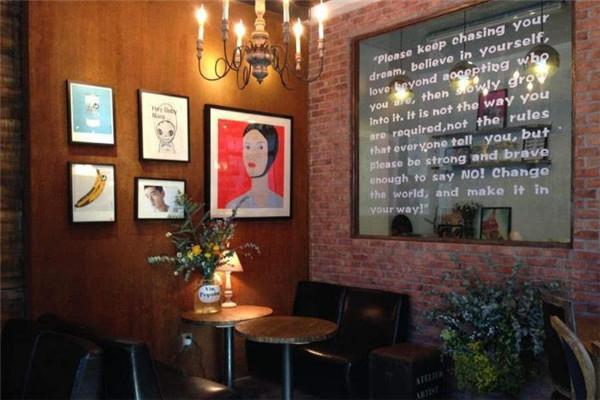 甜蜜转角咖啡厅