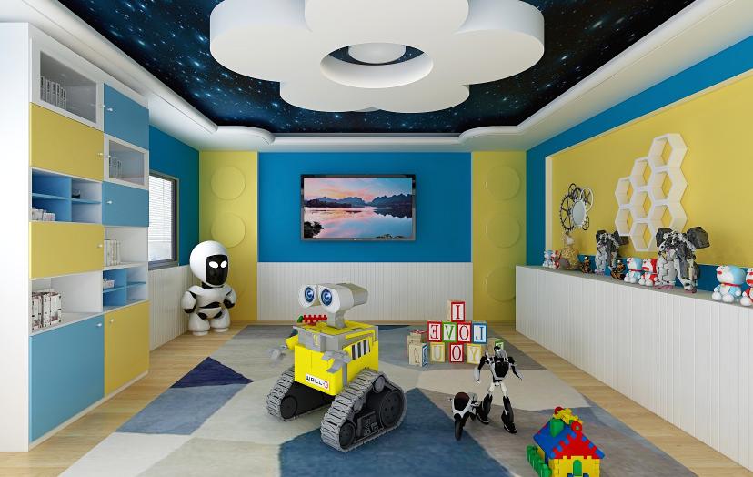 慧乐思儿童机器人教育教室