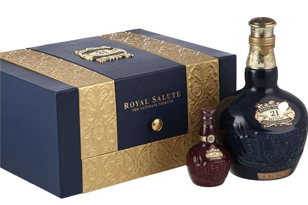 礼炮威士忌礼盒