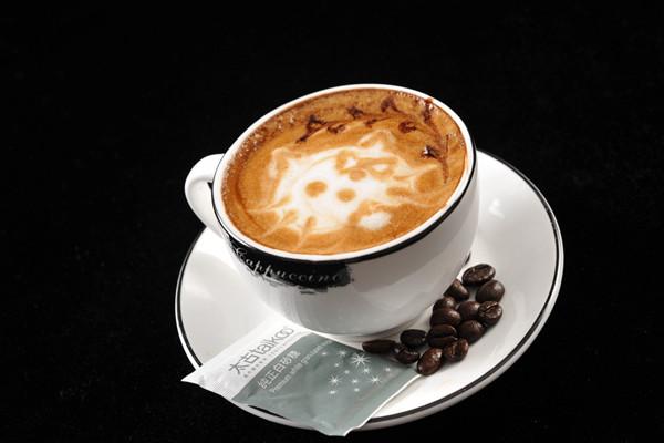 葉子咖啡濃香四溢