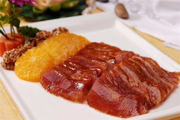 广州塔筷子荟餐厅烤鸭