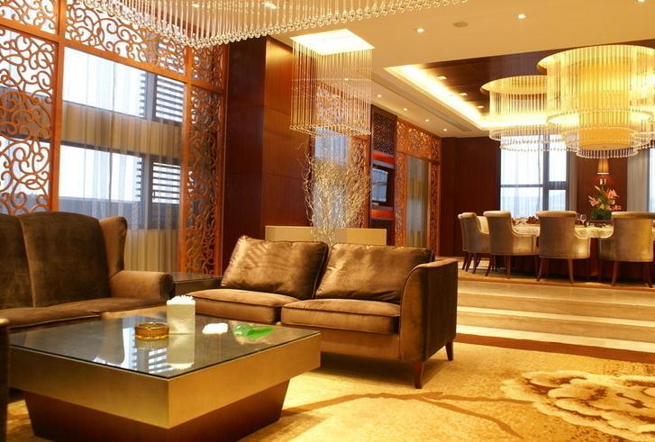 贵和皇冠假日酒店客厅
