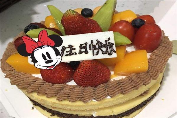 心怡艺术蛋糕草莓