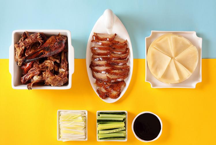 枣木牌烤鸭产品展示