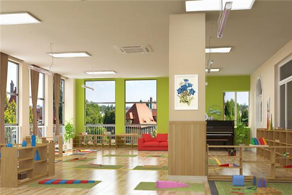 树果国际幼儿园环境